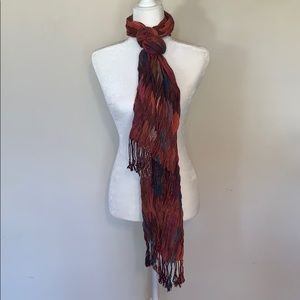 $5 in any bundle! Multicolor Fringe Scarf